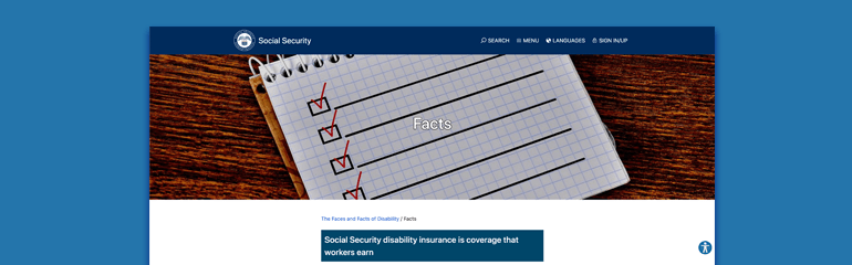 Fast Facts About Social Security Disability Claims